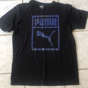 Men's Large Puma Black Shirt 🔥